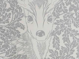 FOREST Dust Dove Grey Wallpaper 10m Roll Hevensent 가정 용품Accessories & decoration