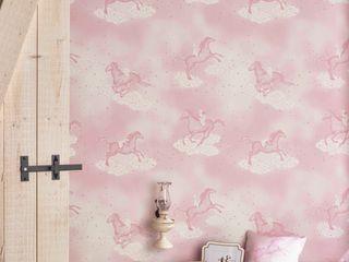 POPCORN Pink Wallpaper 10m Roll Hevensent HouseholdAccessories & decoration