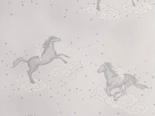 POPCORN Dust Dove Grey Wallpaper 10m Roll Hevensent HouseholdAccessories & decoration