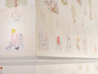 ALPHABET Border Wallpaper 10m Roll Hevensent HouseholdAccessories & decoration