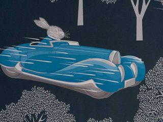 SPEED Midnight Blue Wallpaper 10m Roll Hevensent HouseholdAccessories & decoration