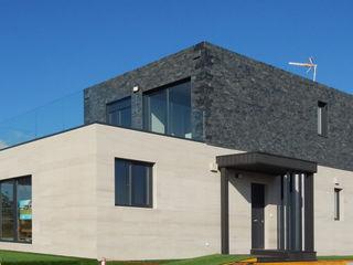 Casa prefabricada Cube 175 - Casa piloto en Barcelona Casas Cube Casas de estilo moderno