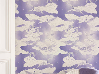 SWANS Lavender Wallpaper 10m Roll Hevensent HouseholdAccessories & decoration