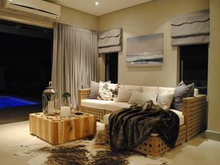 Salomé Knijnenburg Interiors Moderne Wohnzimmer