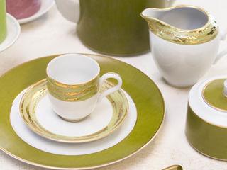 Porcel - Indústria Portuguesa de Porcelanas, S.A. ComedorCristalería y vajilla Porcelana Verde