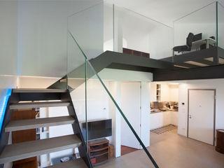 Studio Dalla Vecchia Architetti Modern Living Room Iron/Steel Grey