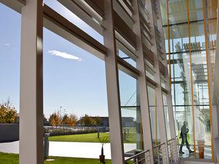 Studio Dalla Vecchia Architetti Office buildings Aluminium/Zinc Metallic/Silver