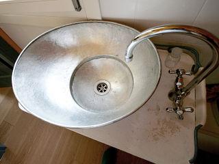 Studio Dalla Vecchia Architetti Industrial style bathroom Copper/Bronze/Brass Metallic/Silver