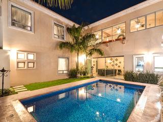 CORTéS Arquitectos Pool Tiles Blue