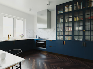 GN İÇ MİMARLIK OFİSİ 現代廚房設計點子、靈感&圖片