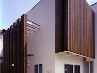 スキップフロアで豊かなスペースの家 豊田空間デザイン室 一級建築士事務所 北欧スタイル 窓&ドア