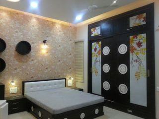 YOJNA ARCHITECTS Minimalistische Schlafzimmer