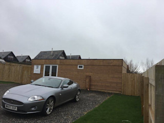 Gwel an Mor - Sales Office - Portreath Building With Frames Office buildings Wood