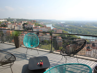 Vue sur Rhône Atelier OCTA Maisons minimalistes