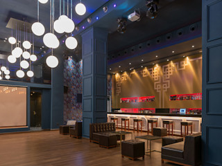 Rufo Iluminación Salle multimédia coloniale