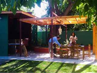 Quincho Amelunxen DIMA Arquitectura y Construcción Casas estilo moderno: ideas, arquitectura e imágenes