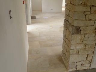 Vincent Athias Architecte DPLG Living room Stone Beige