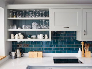 Barnet Kitchen Laura Gompertz Interiors Ltd Cocinas de estilo clásico