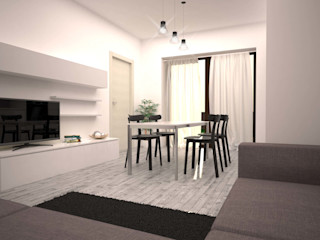 LAB16 architettura&design Minimalist living room