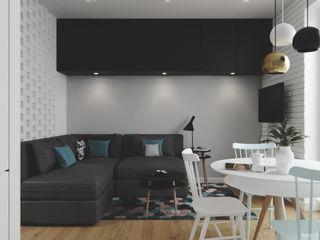 PRØJEKTYW | Architektura Wnętrz & Design Living room