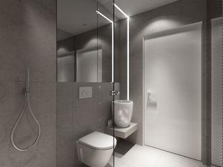 PRØJEKTYW | Architektura Wnętrz & Design Scandinavian style bathroom