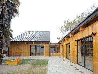 GAALGO Arquitectos Modern Evler