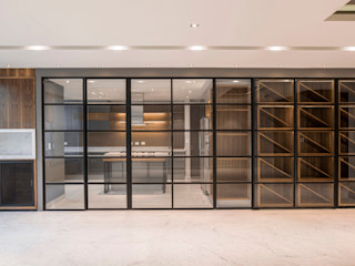 Sobrado + Ugalde Arquitectos 現代廚房設計點子、靈感&圖片