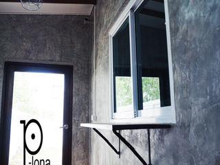 P-lona 廚房 水泥