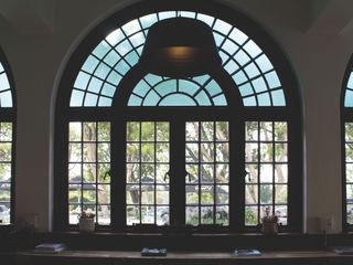 Salomé Knijnenburg Interiors Industriale Bürogebäude