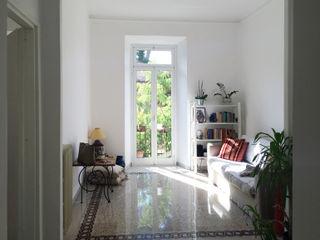 ArchEnjoy Studio Modern Living Room Granite White