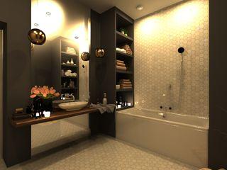 AM Design Skandinavische Badezimmer