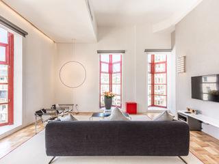 2MD Exclusive Italian Design WohnzimmerSofas und Sessel Textil Schwarz