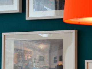 ORTerfinder Livings de estilo moderno Azul