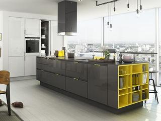 liva decor KitchenKitchen utensils Wood Grey