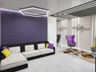 Студия дизайна интерьера Маши Марченко Ruang Keluarga Minimalis