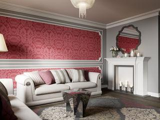 Студия дизайна интерьера Маши Марченко Ruang Keluarga Klasik