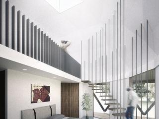 B+V Arquitectos Habitaciones de estilo minimalista