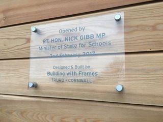 Alverton School Building With Frames Schools Wood