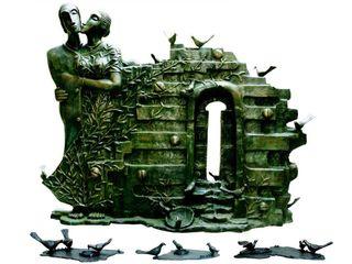 Indian Art Ideas ArteEsculturas Metal Verde