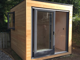 Spectrum Micro Box Building With Frames Commercial Spaces Wood