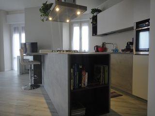 studionove architettura Modern kitchen
