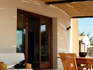 MEF Architect 陽台、門廊與露臺 配件與裝飾品 竹 White