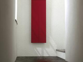 Aria design Franca Lucarelli - Bruna Rapisarda SCIROCCO H Ingresso, Corridoio & ScaleAccessori & Decorazioni Ferro / Acciaio Rosso