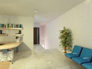 OLLIN ARQUITECTURA Corridor, hallway & stairsAccessories & decoration Plastic White