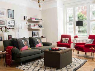'Designed for living' - Whitehall Park Residential SWM Interiors & Sourcing Ltd Salas modernas