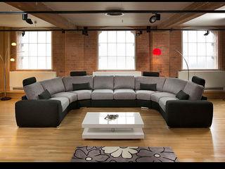 Super Size Cinema Sofas Quatropi ltd 客廳沙發與扶手椅 Grey