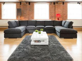 Super Size Cinema Sofas Quatropi ltd 客廳沙發與扶手椅 Black