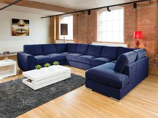 Super Size Cinema Sofas Quatropi ltd 客廳沙發與扶手椅 Blue