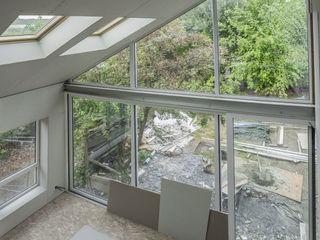 maison B. Amélie Jodeau Architecte Salon moderne