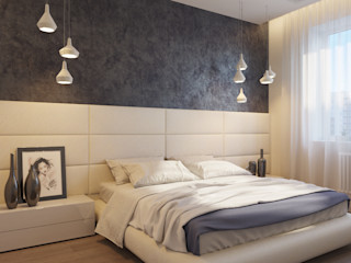 Армония ДОМ СОЛНЦА Спальня в стиле минимализм
